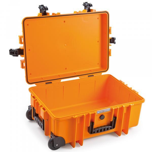 B&W Case Trolley 6700 orange