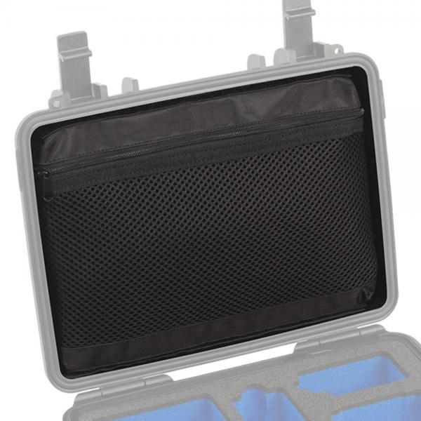 B&W Meshbag Deckeltasche für Case 10 & 1000