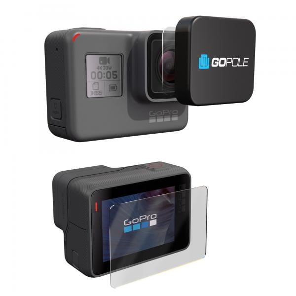 GoPole Lens + LCD Protection Kit für HERO5-7 Black