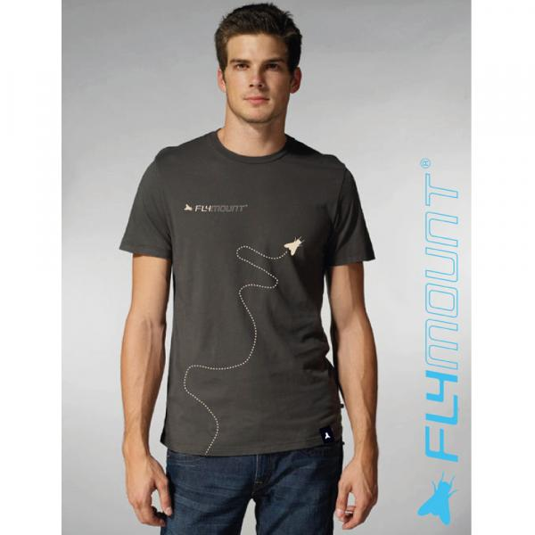 Flymount T-Shirt Fly grau