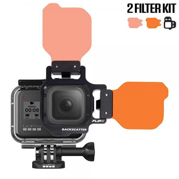 Backscatter FLIP8 2-Filter Kit für HERO5-8 Black