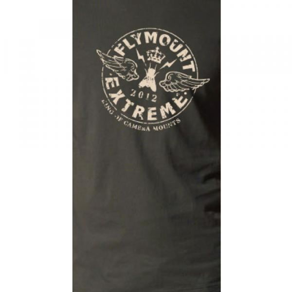 Flymount T-Shirt Circle Logo grau