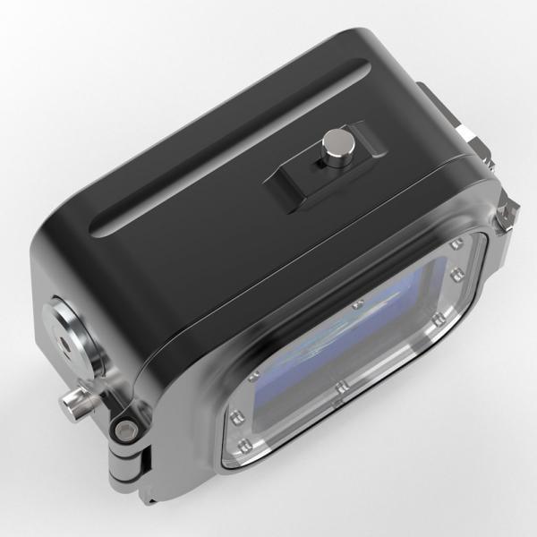 T-HOUSING Aluminium Tieftauchgehäuse für HERO9 & 10 Black