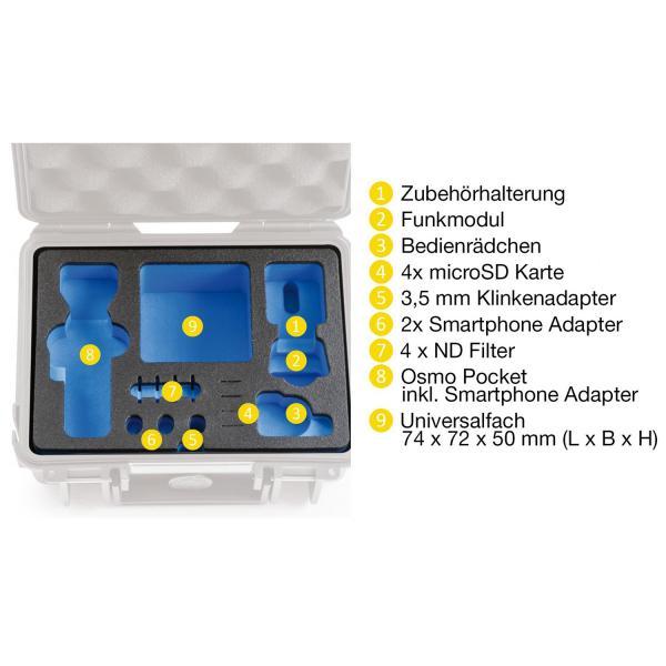 B&W DJI OSMO Pocket Case 500