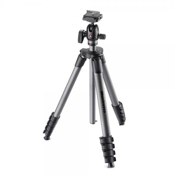 Manfrotto Compact Advanced Alu Stativ QPL mit Kugelkopf