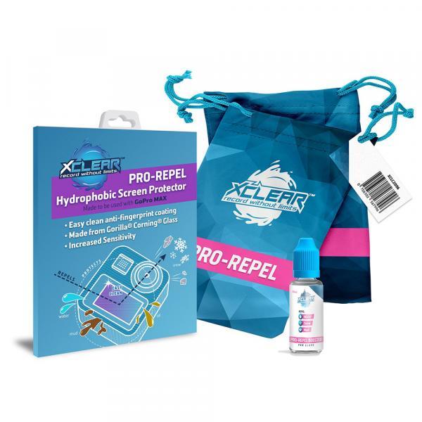 xclear PRO-REPEL Hydrophobic Protector Bundle für GoPro MAX