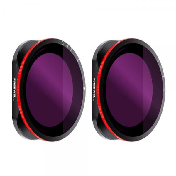 Freewell Variable ND-Filter 2-Pack für HERO8 Black