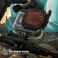 PolarPro Rotfilter für HERO8 Black