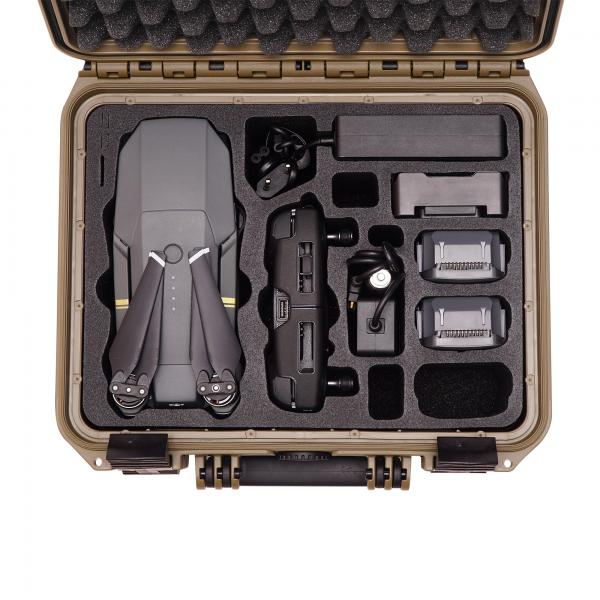 TOMcase Mavic Pro Case Travel Edition limited sahara edition