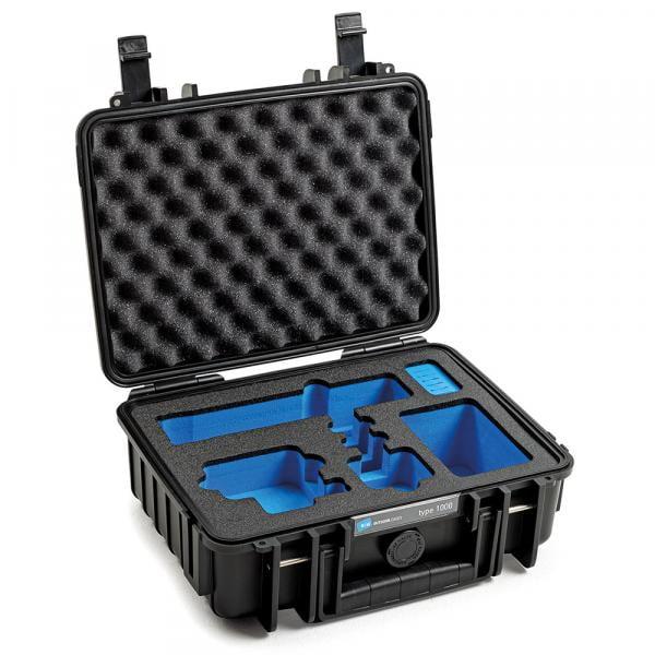 B&W HERO9 & 10 Black Case 1000