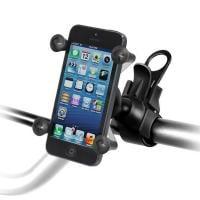 RAM Mounts EZ-Strap Lenker-Halterung mit X-Grip Halteklammer für Smartphones RAP-SB-187-UN7U