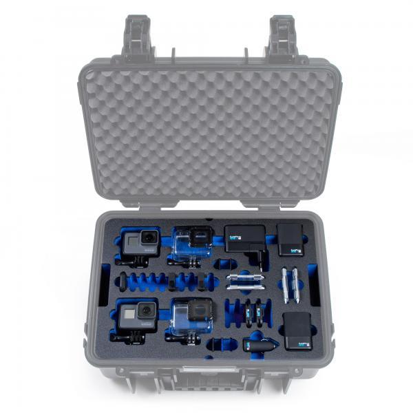 B&W Case 4000 Custom Einsatz für HERO5-7 Black