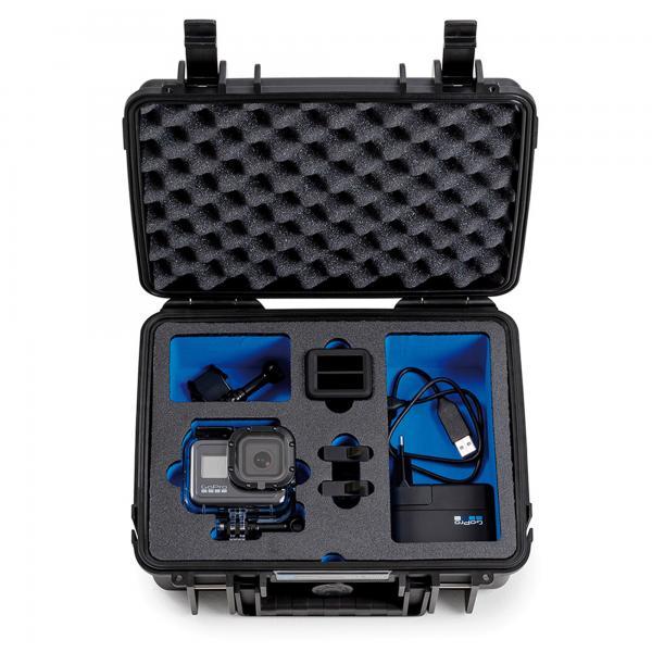 B&W Case 1000 Custom limited + Custom Einsatz für HERO8 Black