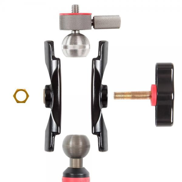 iSHOXS 1/4-Zoll Small Grab Adapter