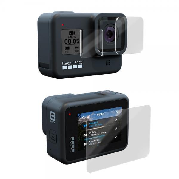 GoPole Lens & LCD Protectionkit für HERO8 Black