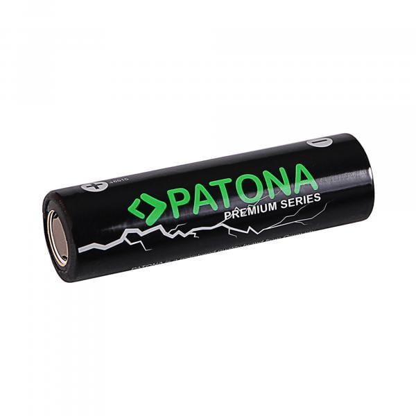 Patona 18650 Zelle Li-Ion Akku 3,7V 3350mAh