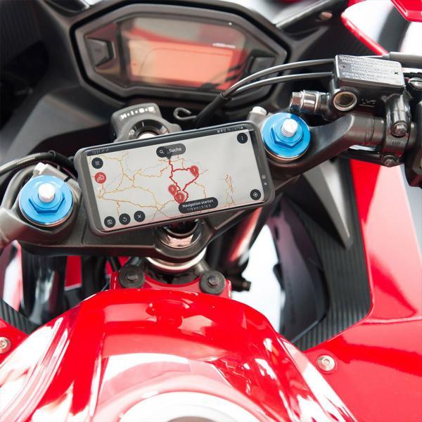SP Connect Moto Stem Mount 12-30mm