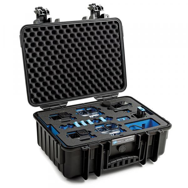 B&W HERO9 Black Case 4000