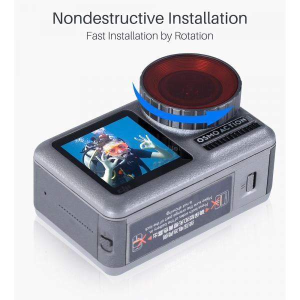 Ulanzi OA-9 DJI OSMO Action Dive Filter Set