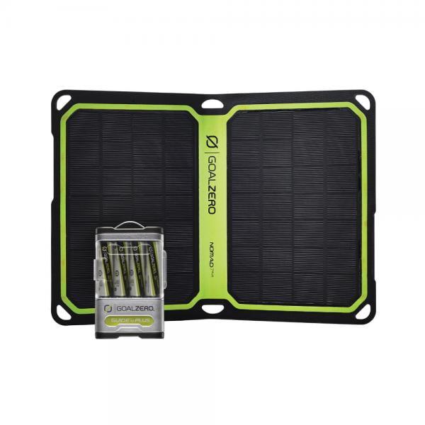 Goal Zero Guide 10 Plus Solar Kit Nomad 7 Plus