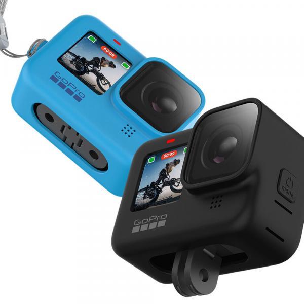 GoPro Sleeve & Lanyard HERO9 & 10 Black