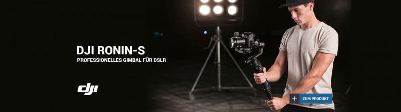 DJI Ronin-S Handheld Gimbal