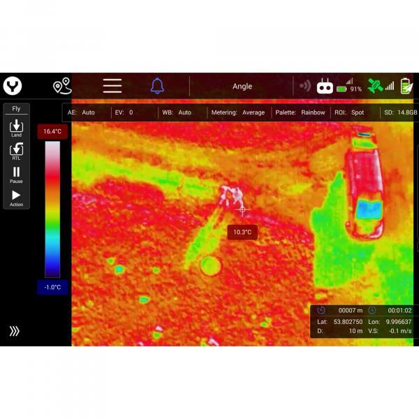 YUNEEC E20Tvx Radiometrikkamera für H520E