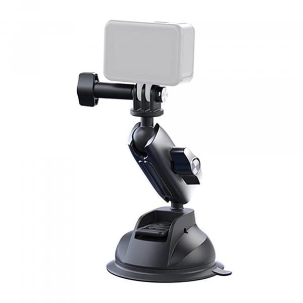 Telesin Saugnapf 360° drehbar inkl. Adapter