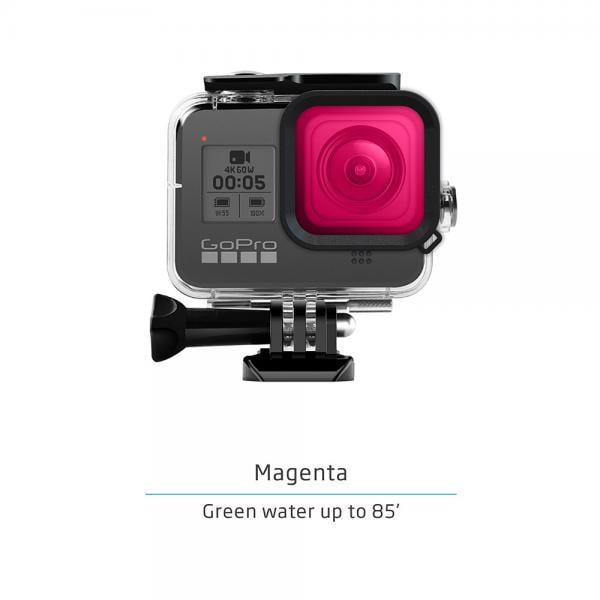 GoPole Dive Housing & Filterkit für HERO8 Black