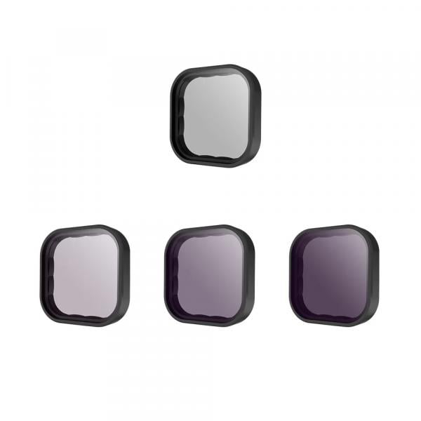 Telesin 4er ND-Filter Set für HERO9 & 10 Black