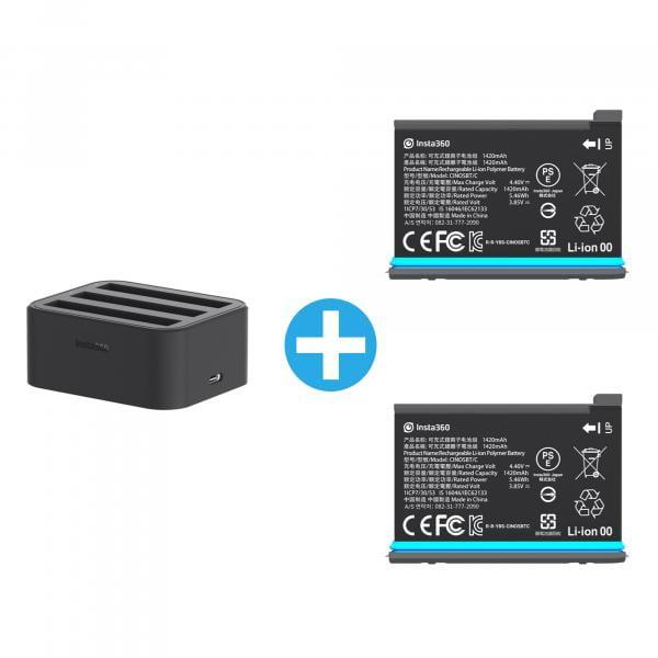 Insta360 ONE X2 1420mAh Power Bundle