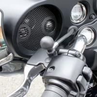 RAM Mounts Basis-Kugel für Harley Davidson Motorräder (Spiegelaufnahme) RAP-B-379-HA1U