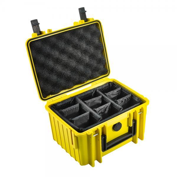 B&W Outdoor Case 2000 yellow