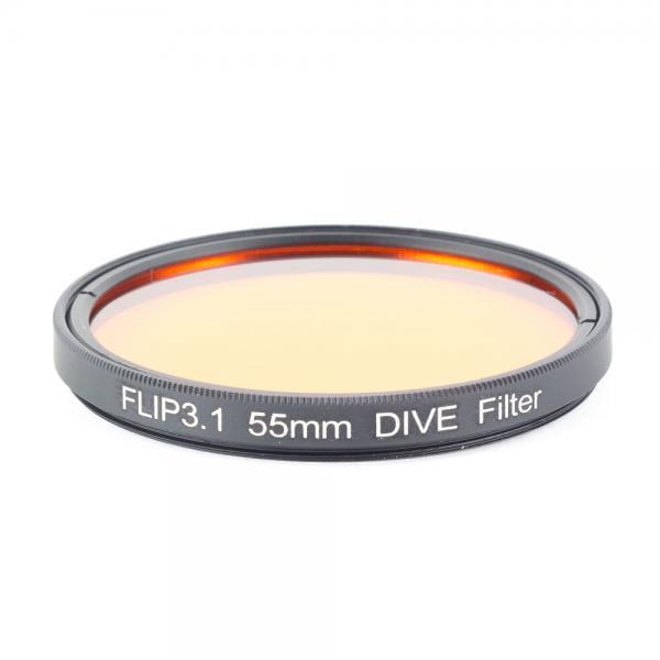 Backscatter FLIP 55mm Dive Filter