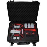 TOMcase RTF-Case XT465 schwarz Inlay schwarz/rot für Mavic Air 2