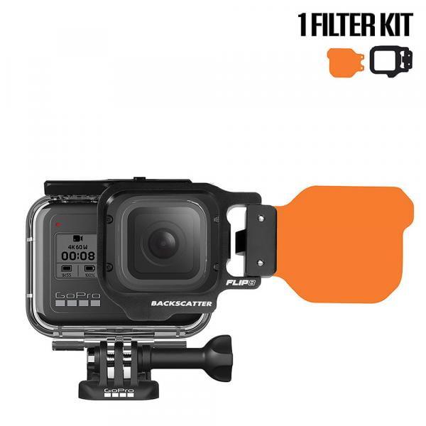 Backscatter FLIP9 1-Filter Kit für HERO5-10 Black
