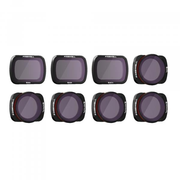 Freewell Gear All Day Filter 8Pack für OSMO Pocket & Pocket 2