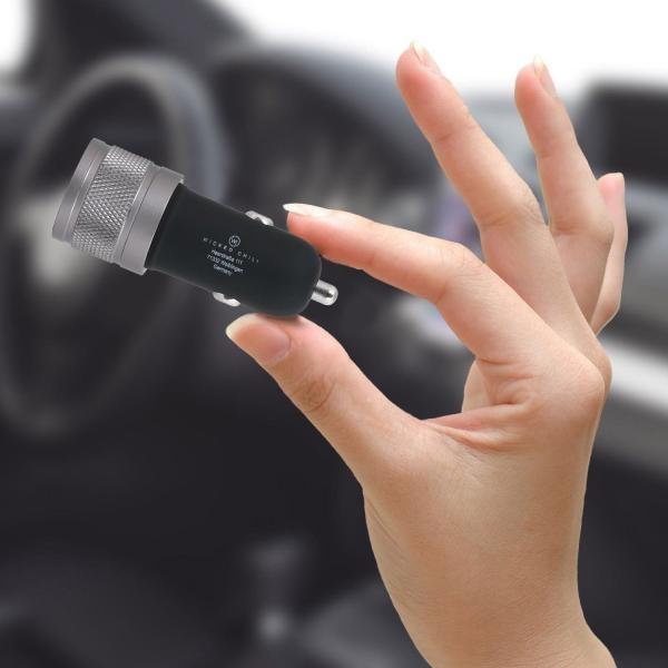 Wicked Chili Turbo-ID 4800mA Dual Auto USB KFZ Ladegerät iPhone