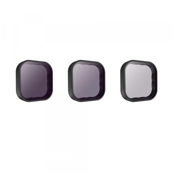 Telesin 3er ND-Filter Set für HERO9 Black