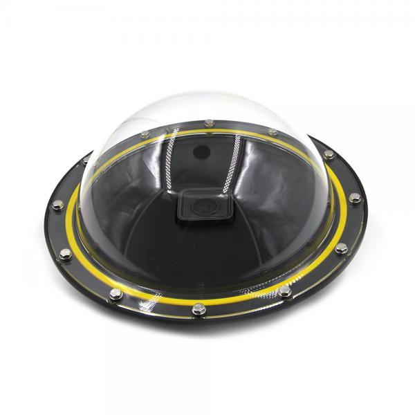 Telesin Dome-Port V2 incl. Trigger für HERO5-7 Black