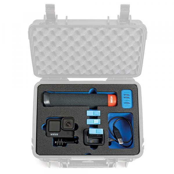 B&W Case 1000 Custom Einsatz für HERO9 Black
