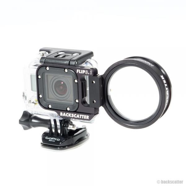 Backscatter Macromate Mini 55mm +15 Flip Macro Lens REFURBISHED