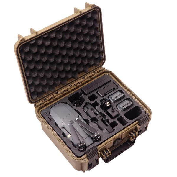 TOMcase Mavic Pro Case Travel Edition limited sahara edition