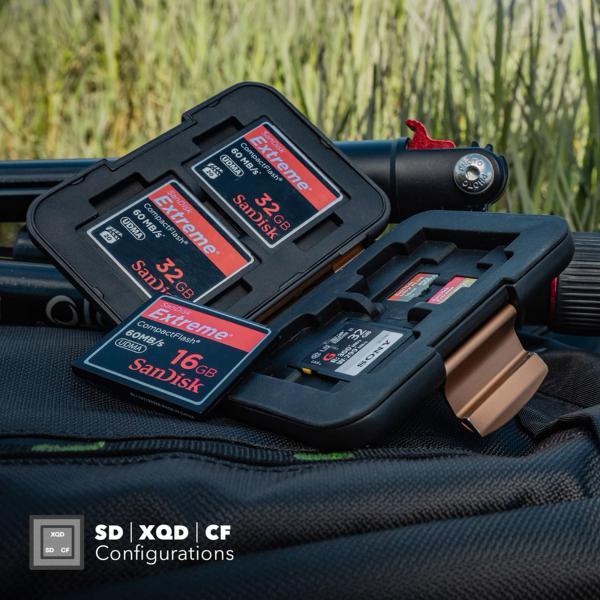 PolarPro Memorycard Storage Box 8xSD, 16xMicroSD
