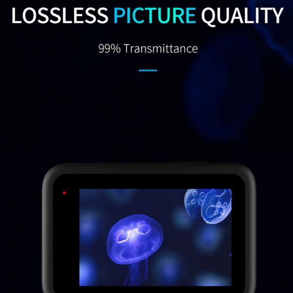Telesin Tempered Glass Film für HERO9 Black